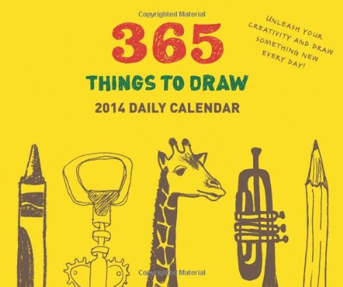 9781452118765: 365 Things to Draw 2014 Daily Calendar