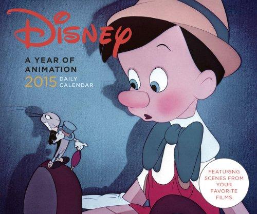 9781452122250: Disney 2015 Calendar: A Year of Animation