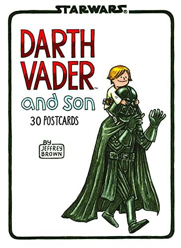 9781452123073: Darth Vader and Son Postcard Book (Star Wars)