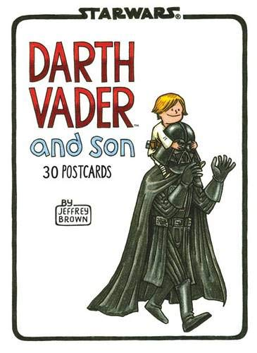 9781452123073: Darth Vader and Son Postcard Book