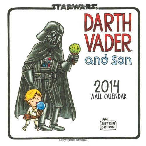 9781452123080: Darth Vader and Son 2014 Wall Calendar (Star Wars)