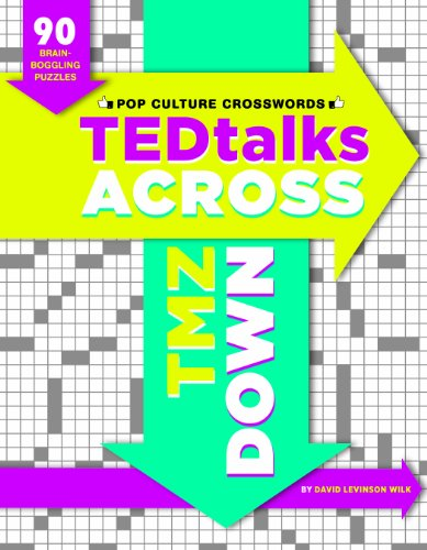 9781452123325: TEDTalks Across, TMZ Down: 90 Brain Boggling Crosswords for Today's Cultural Connoisseurs