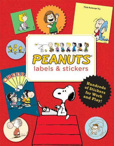 9781452124223: Peanuts Labels and Stickers