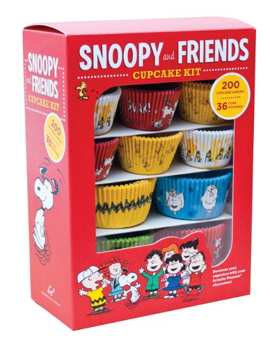9781452124230: Snoopy and Friends Cupcake Kit: Decorate Your Cupcakes with Your Favorite Peanuts Characters