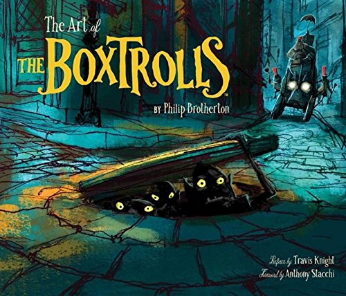 9781452128351: The Art of the Boxtrolls