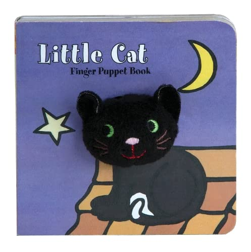 Little Cat: Finger Puppet Book (Little Finger Puppet Board Books)