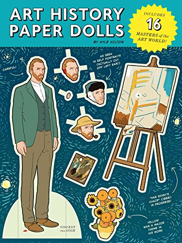 9781452129242: Art History Paper Dolls