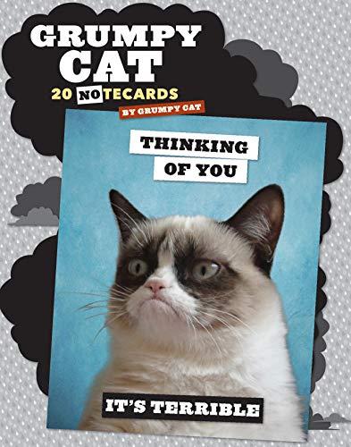 9781452130859: Grumpy Cat Notecards: 20 Notecards & Envelopes