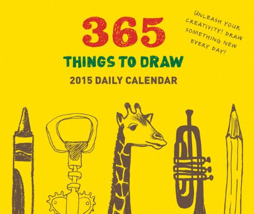9781452131436: 2015 Daily Calendar: 365 Things to Draw (Page a Day Calendar 2015)