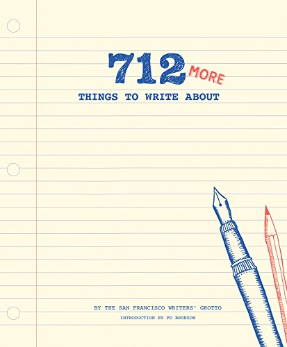 9781452132631: 712 More Things To Write About (Journal)