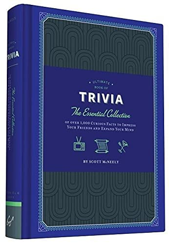 9781452136615: Ultimate Book of Trivia: The Essential Collection of over 1,000 Curious Facts to Impress Your Friends and Expand Your Mind
