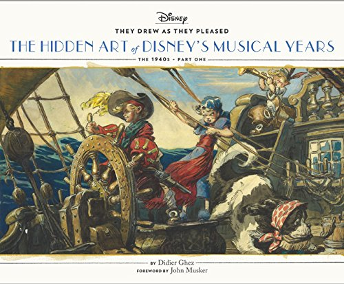 9781452137445: They Drew as They Pleased: The Hidden Art of Disney's Musical Years (The 1940s - Part One)