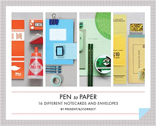 Pen to Paper Notecards (Stationery): Present & Correct
