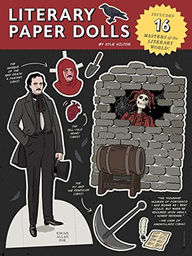 Literary Paper Dolls: Includes 16 Masters of the Literary World!: Hilton, Kyle