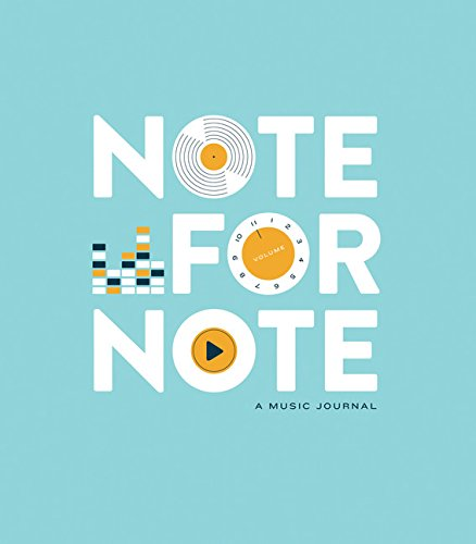 9781452145358: Note for Note: A Music Journal