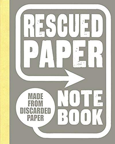 9781452145815: Rescued Paper Notebook, large