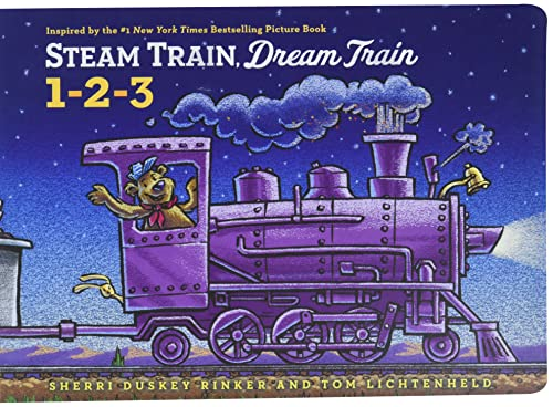 9781452149141: Steam Train, Dream Train 1-2-3