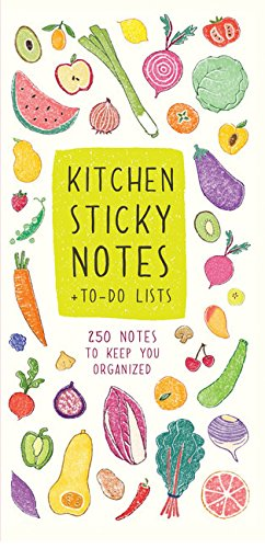 9781452150192: Kitchen Sticky Notes + To-Do Lists: 250 Notes to Keep You Organized