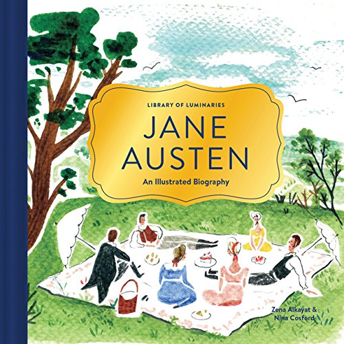 9781452150215: Library of Luminaries: Jane Austen: An Illustrated Biography