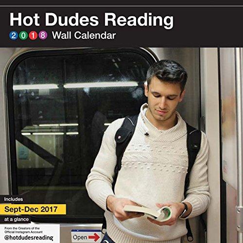 2018 Wall Calendar: Hot Dudes Reading
