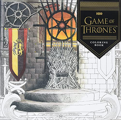 9781452154305: HBO's Game of Thrones Coloring Book
