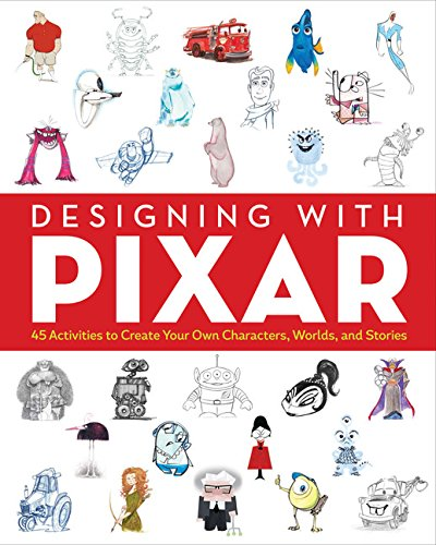 Pixar the Story of Design Activity Book (Colouring Books): Ouvrage Collectif
