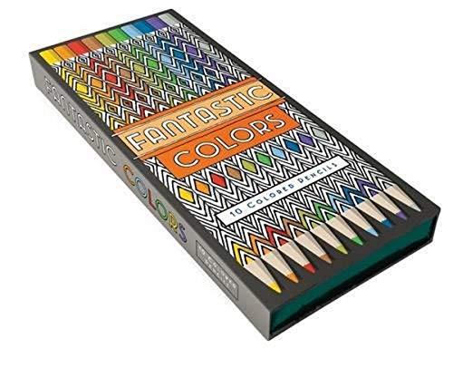 9781452159096: Fantastic Colors Pencils: (Fantastic Cities) (Stationery)