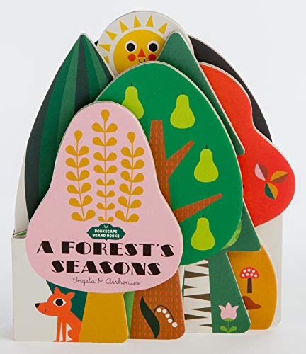 9781452174945: Bookscape Board Books: A Forest's Seasons: (Colorful Children's Shaped Board Book, Forest Landscape Toddler Book): 1