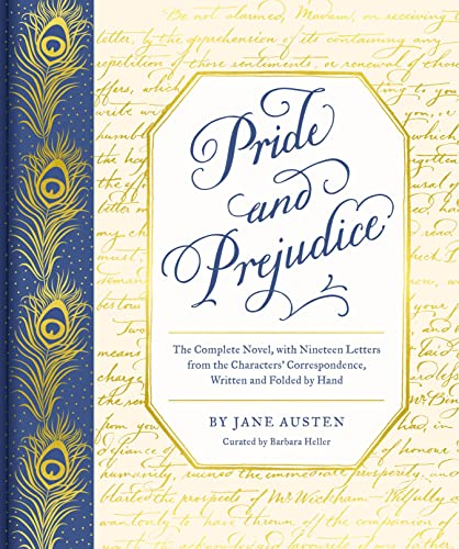 9781452184579: Pride and Prejudice: The Complete Novel, With Nineteen Letters from the Characters' Correspondence, Written and Folded by Hand