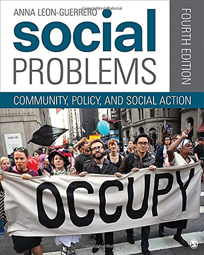 9781452205434: Social Problems: Community, Policy, and Social Action