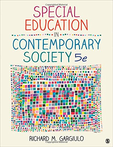 9781452216775: Special Education in Contemporary Society: An Introduction to Exceptionality