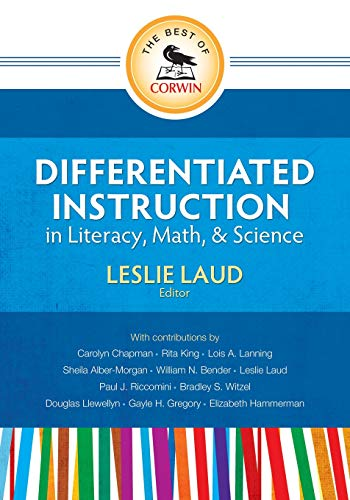 9781452217338: The Best of Corwin: Differentiated Instruction in Literacy, Math, and Science