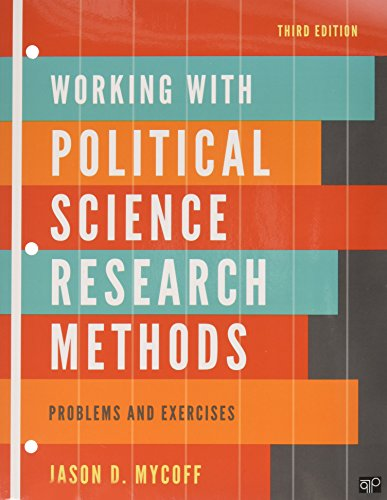 9781452218885: Political Science Research Methods, 7e/ Working With Political Science Research Methods Workbook 3e: Problems and Exercises