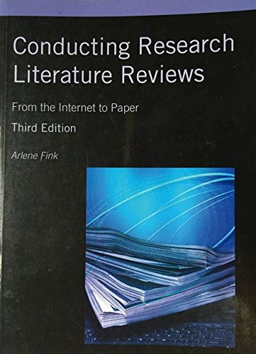 9781452228297: Conducting Research Literature Reviews: From the Internet to Paper