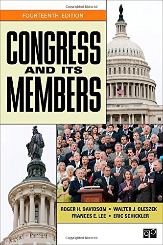 Congress and Its Members, 14th Edition: Davidson, Roger H,