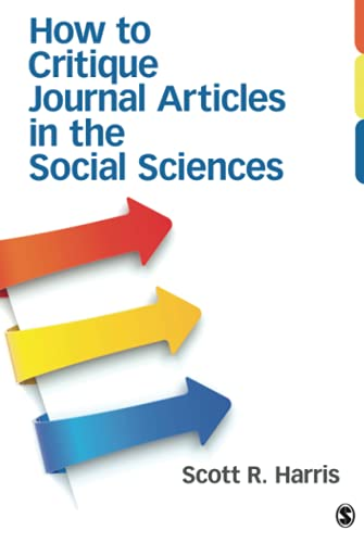 Download How to Critique Journal Articles in the Social Sciences