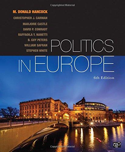 Politics in Europe: Hancock, M. Donald