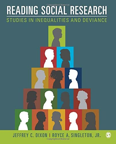 9781452242019: Reading Social Research: Studies in Inequalities and Deviance