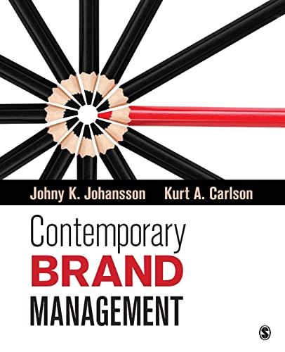 Contemporary Brand Management: Johansson, Johny K.