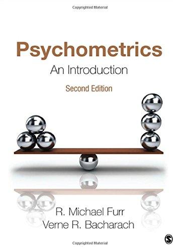 Psychometrics : An Introduction: R. Michael Furr;