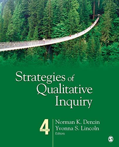 9781452258058: Strategies of Qualitative Inquiry