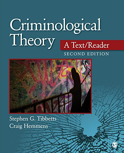 9781452258157: Criminological Theory: A Text/Reader