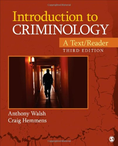 9781452258201: Introduction to Criminology: A Text/Reader (SAGE Text/Reader Series in Criminology and Criminal Justice)