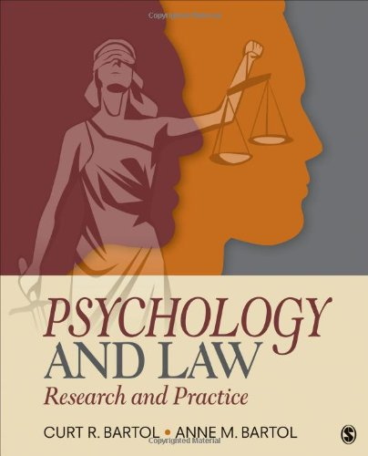 9781452258911: Psychology and Law: Research and Practice