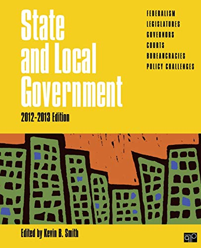 9781452258959: State and Local Government, 2012-2013 Edition (State & Local Government)