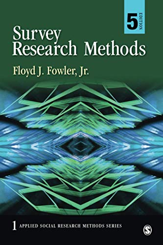 9781452259000: Survey Research Methods (Applied Social Research Methods)
