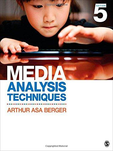 9781452261355: Media Analysis Techniques