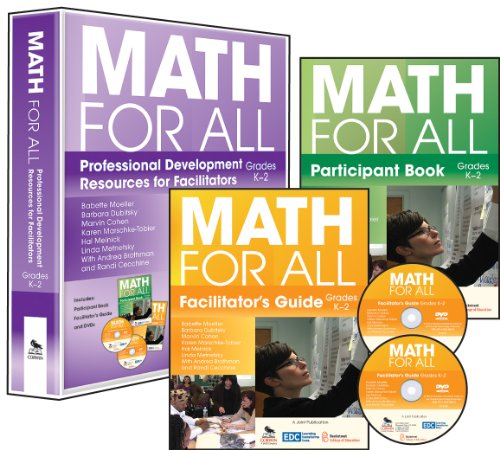 Math for All, Grades K-2: Professional Development: Moeller, Babette/ Dubitsky,