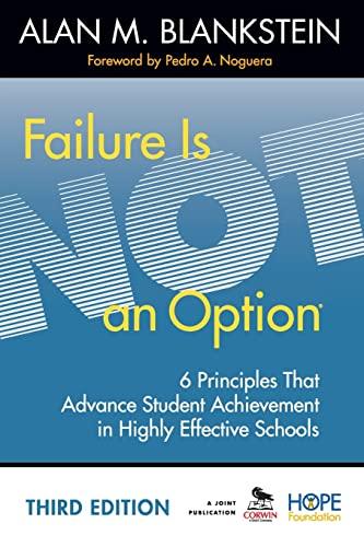 failure is not an option book pdf