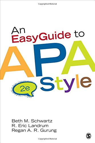9781452268392: An EasyGuide to APA Style (EasyGuide Series)